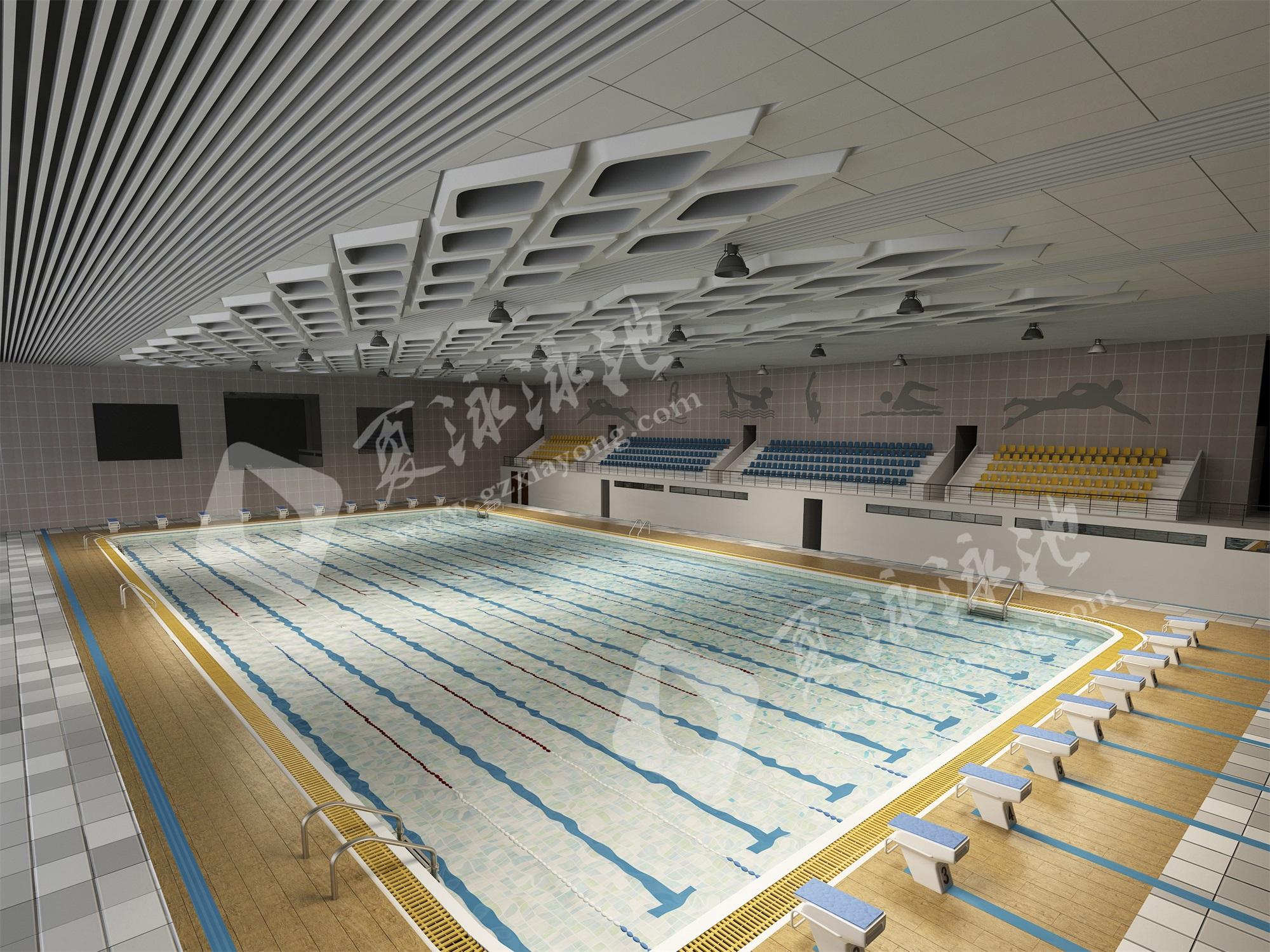 大型游泳馆游泳池效果展示