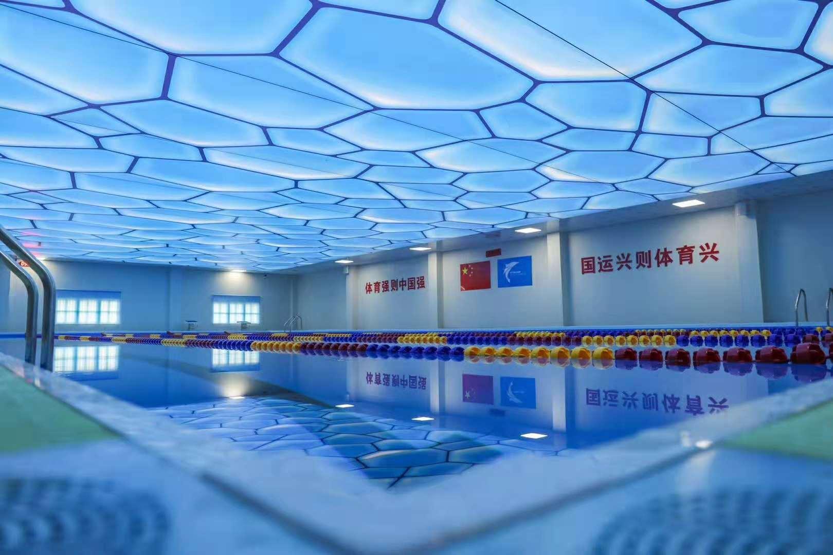学校类型钢结构拆装式游泳池解决方案
