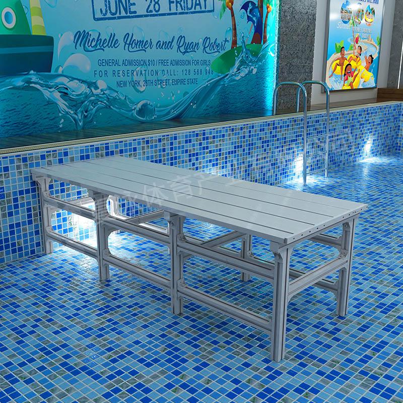 拼装式PVC泳凳,PVC泳池垫层,泳池增高垫,游泳池培训专用