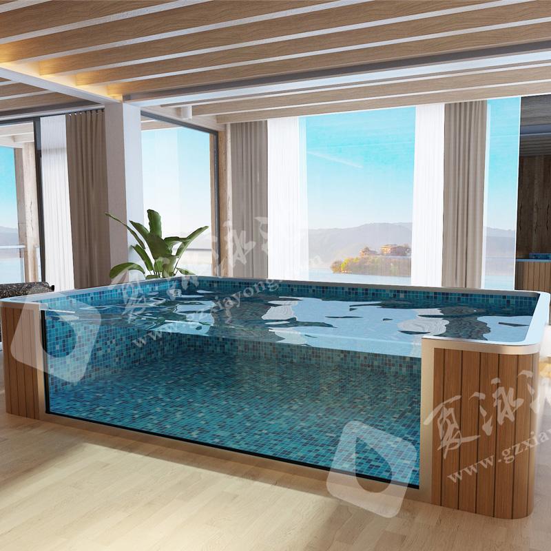 个性化定制钢结构拆装式游泳池解决方案