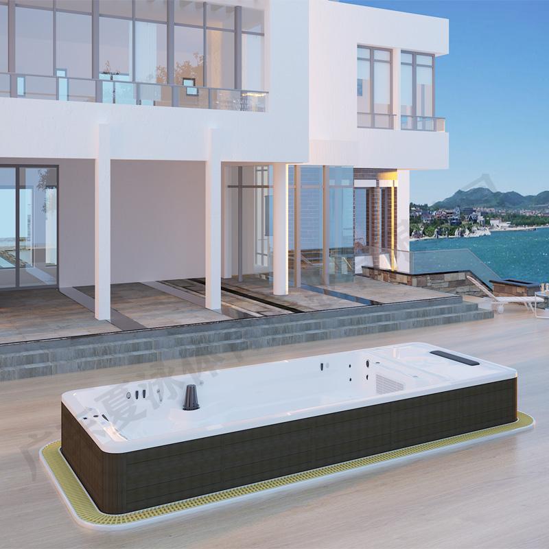 无边际游泳池,按摩SPA浴缸,永远游不到边的游泳池
