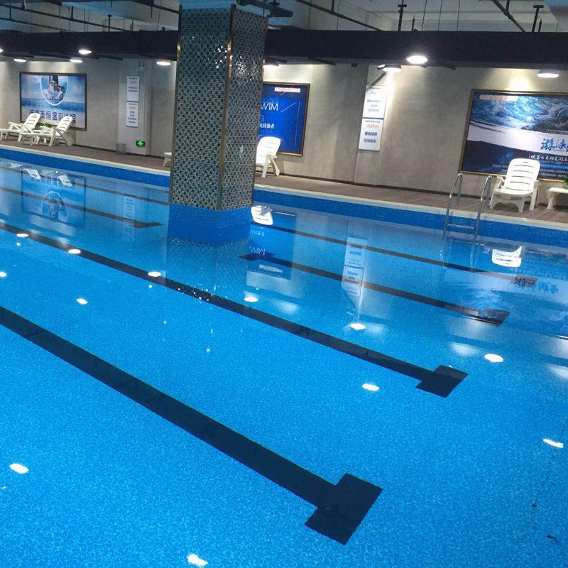 健身房类型钢结构拆装式游泳池解决方案