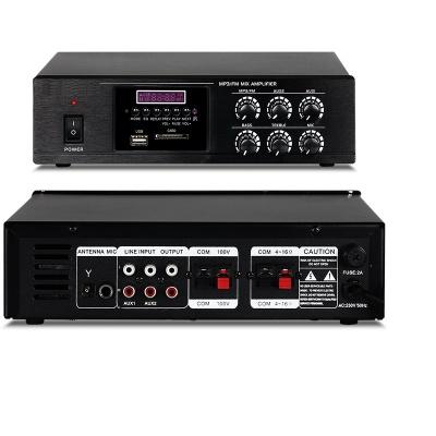 Mixer Amplifier 80W T-80D with USB/SD/FM/Bluetooth wireless
