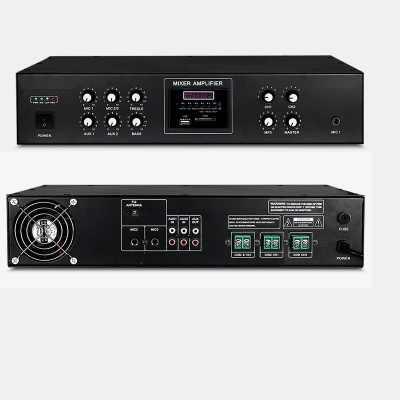 2 Zones Mixer Amplifier with USB/FM/SD/Bluetooth