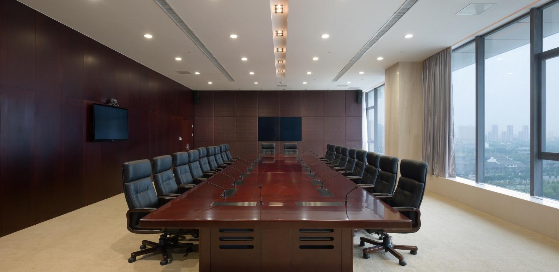 悅達集團會議室