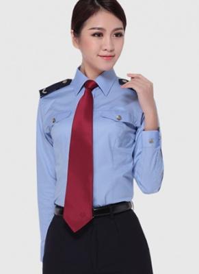 税务局长袖衬衣