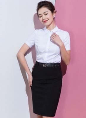 女式短袖衬衣定做 (4)