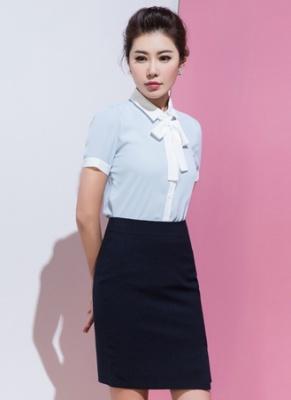 女式短袖衬衣定做 (3)