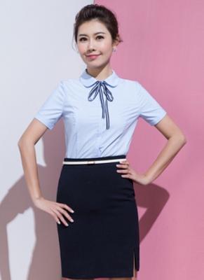 女式短袖衬衣定做 (2)