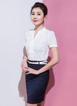 女式短袖衬衣定做 (6)