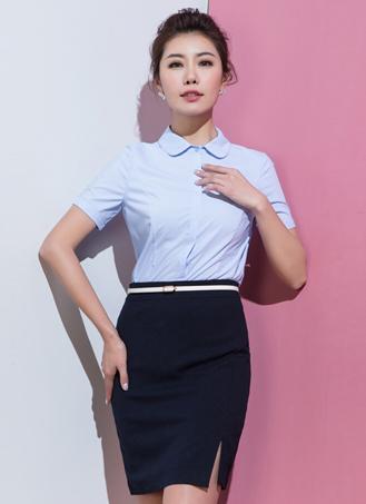 女式短袖衬衣定做 (5)