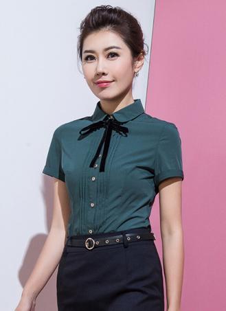 女式短袖衬衣定做 (7)