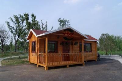 蘇州防腐木售貨亭