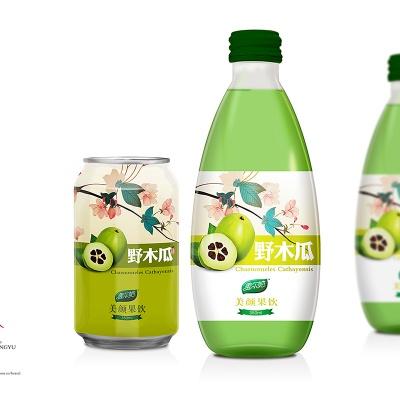 野木瓜汁——包装设计