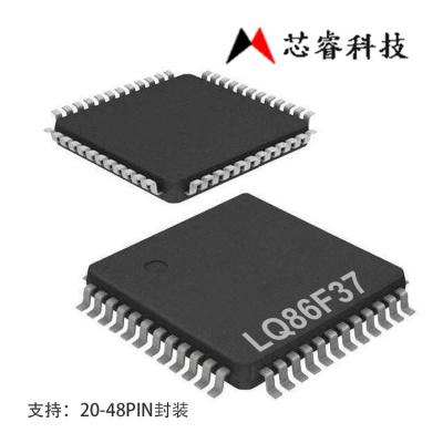 台湾芯睿8bitADC单片机LQ86F37