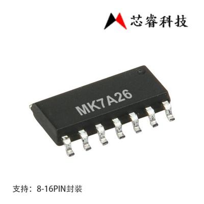 台湾芯睿8bitADC单片机MK7A26