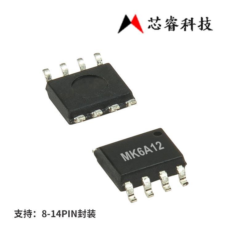 台湾芯睿8bitIO单片机MK6A12
