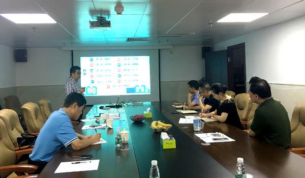 李总率团队到广东省医疗行业协会进行合作培训