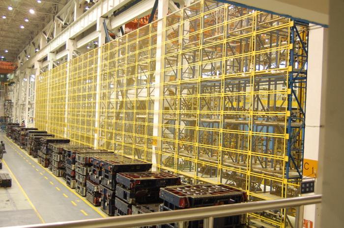 高架仓库电控系统
