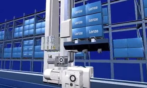 巷道堆垛机(SRU)—— Lenze场内物流行业自动化技术方案