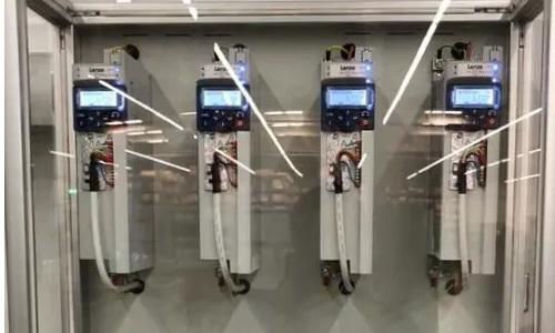 使用伦茨i500变频器的控制柜