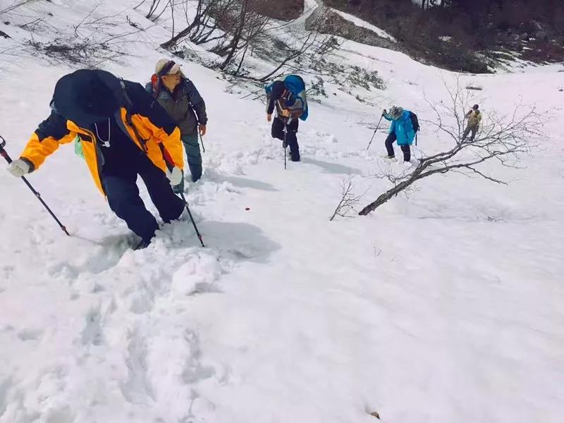 徒步 | 12月14-15日轿子雪山翻越