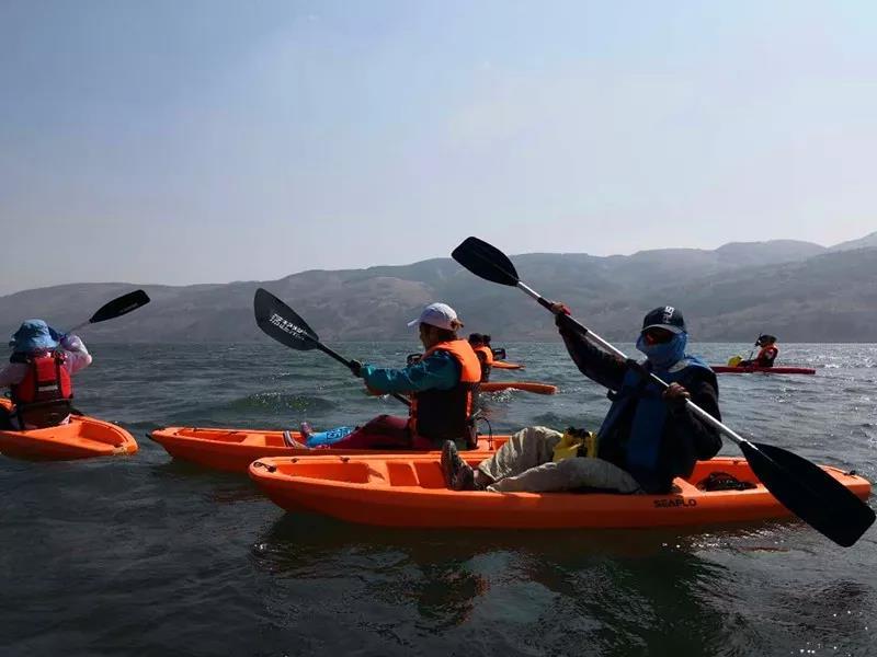 漂流 | 陽宗海獨木舟挑戰