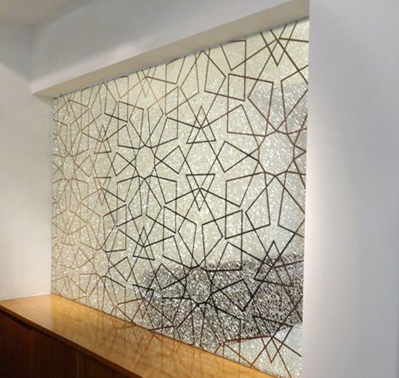 藝術玻璃隔斷的分類