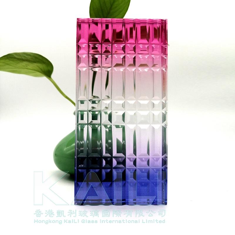 炫彩膜夹层玻璃