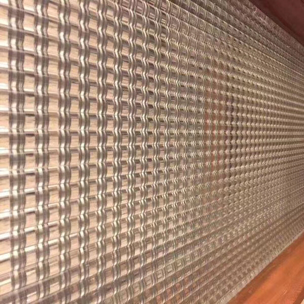 熱熔壓延玻璃屏風