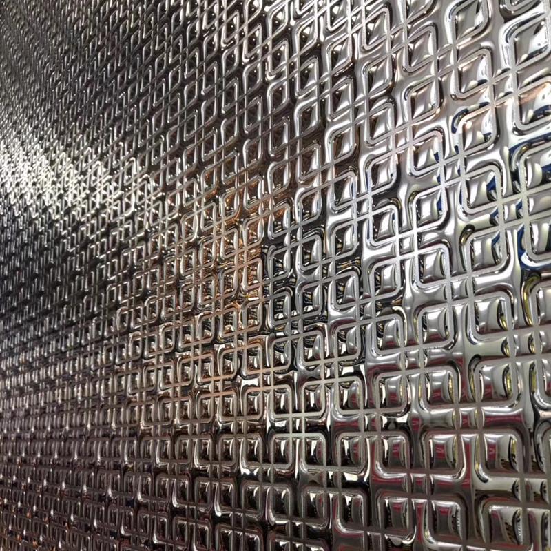 熱熔壓延玻璃貼牆