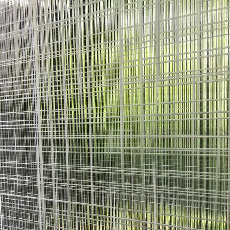 絲布夾層玻璃