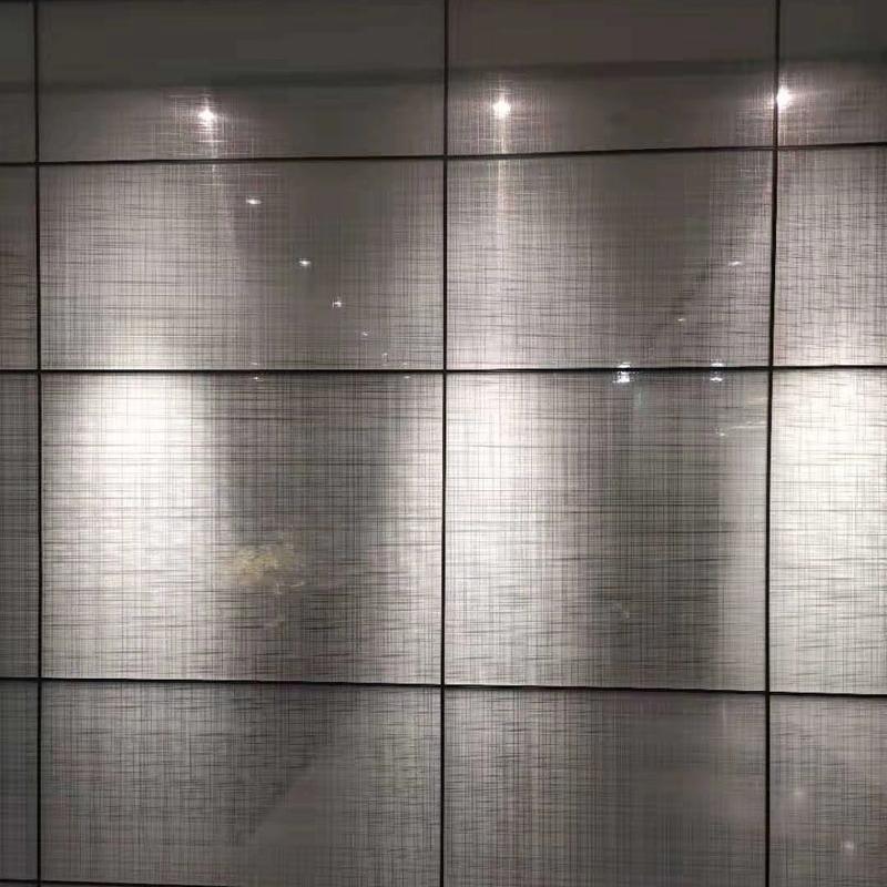 金屬網夾層玻璃
