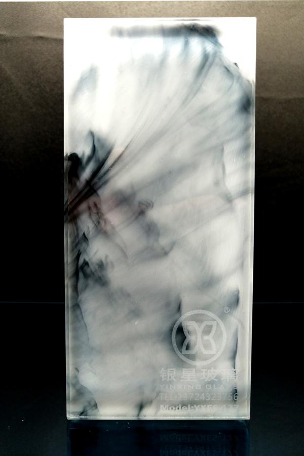 流體藝術夾層玻璃