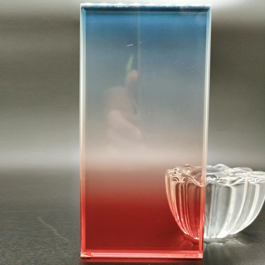 炫彩膜夾層玻璃
