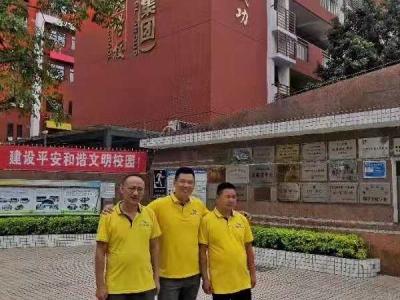 中國寶安集團塘頭學校施工案例