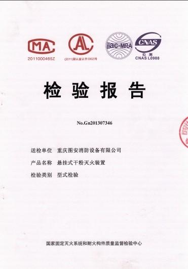 检测报告(非贮压悬挂多用型)