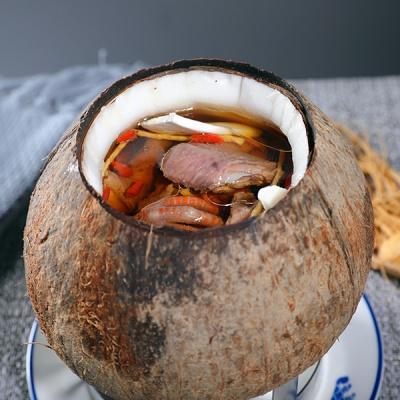 原盅椰子炖鹌鹑