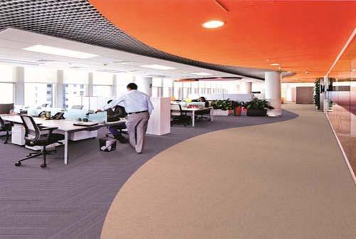 廣州裝修公司辦公室地毯效果展示 銷售地板定制安裝,鎖扣地板,pvc塑膠地板,地坪自流平