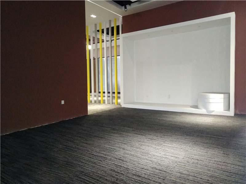 辦公地毯片材順鋪案例展示-中山沙溪家居館