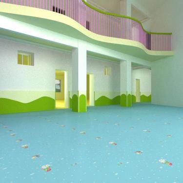 兒童專用地板_幼兒園塑膠地板_早教PVC地板