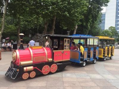 奥特莱斯款电动小火车