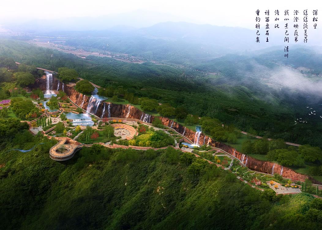 萬山斷崖風景區