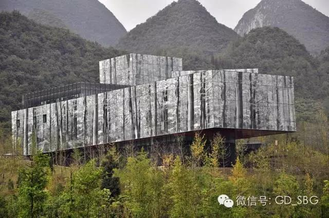 六盤書畫院-把人文、節能建筑融入自然之中