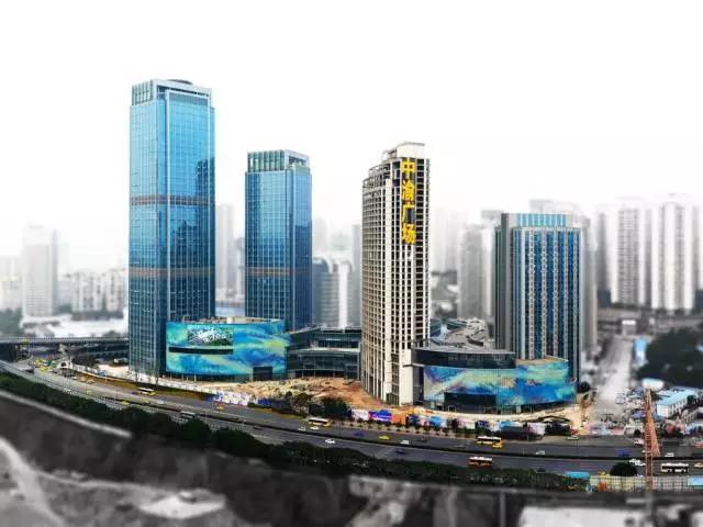 重慶中渝廣場-展現
