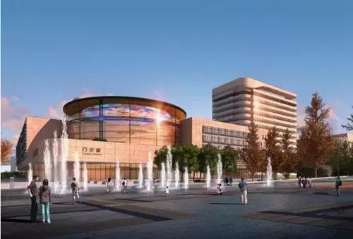 四川大学华西第二医院——文化玻璃穹顶艺术