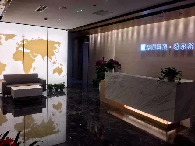 华润置地 · 哈尔滨——柔光文化墙