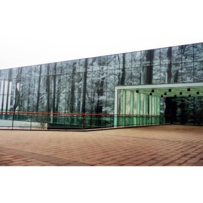 文化建筑數碼彩釉LOW-E節能、安全玻璃