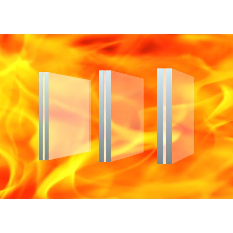 新型硅類復合非隔熱型防火璃