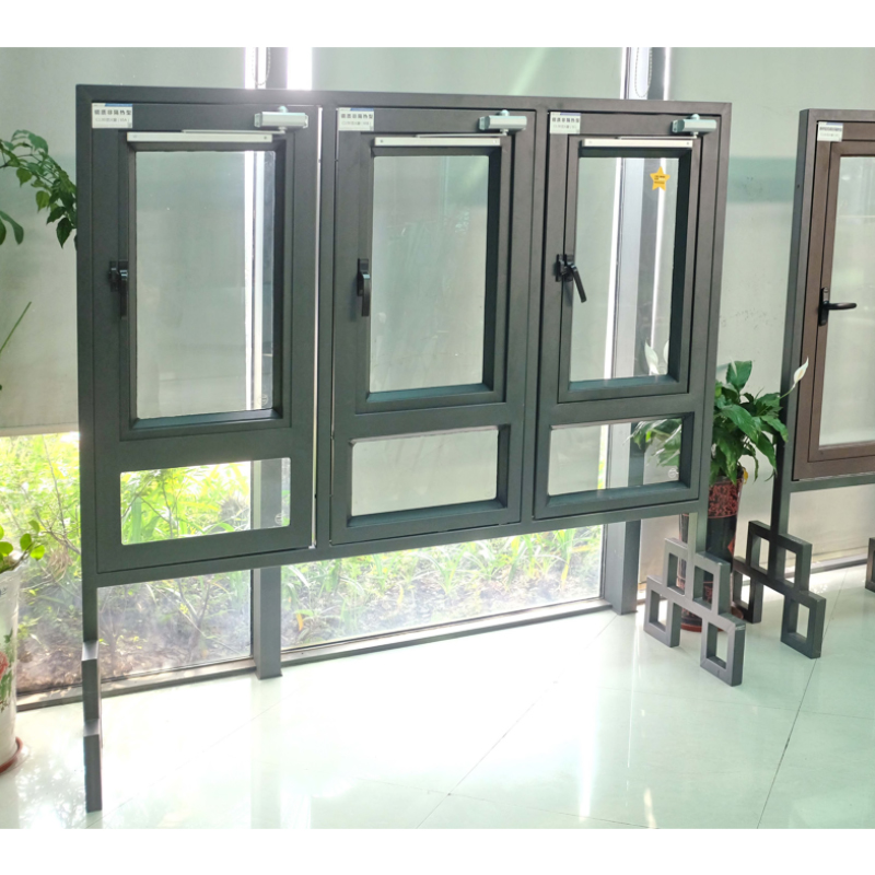 鋼質耐火完整性外窗